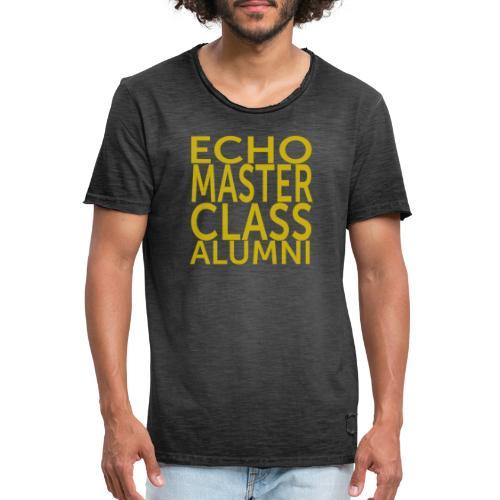 Echo Masterclass - Men's Vintage T-Shirt