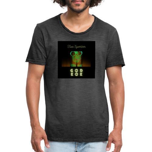 Tuva Syvertsen God Kok Design - Vintage-T-skjorte for menn