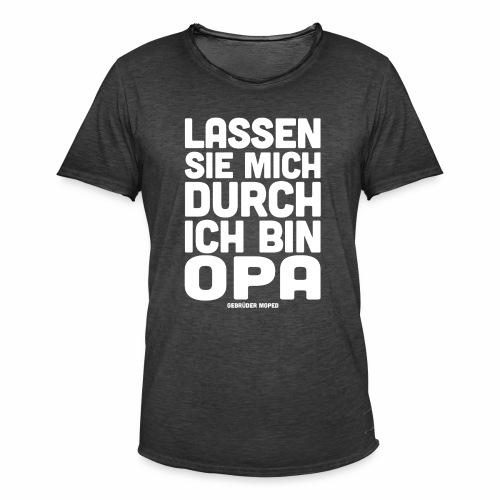 Opa - Männer Vintage T-Shirt