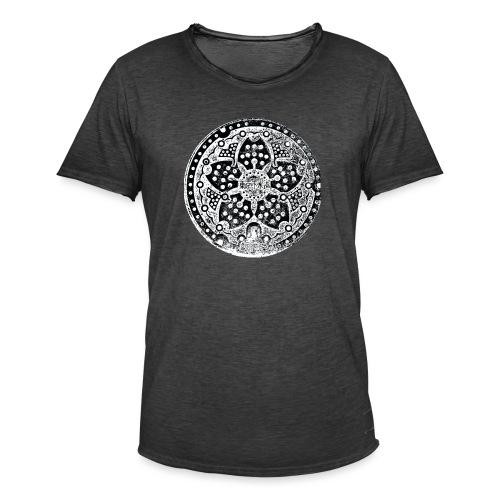 Adaiba Manhole - Männer Vintage T-Shirt