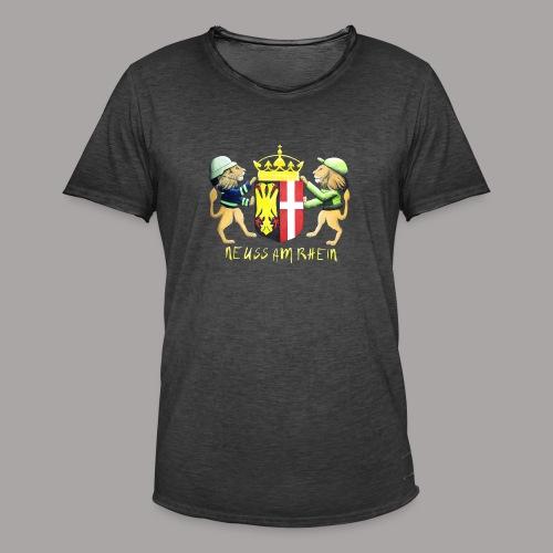 Neuss am Rhein - Männer Vintage T-Shirt