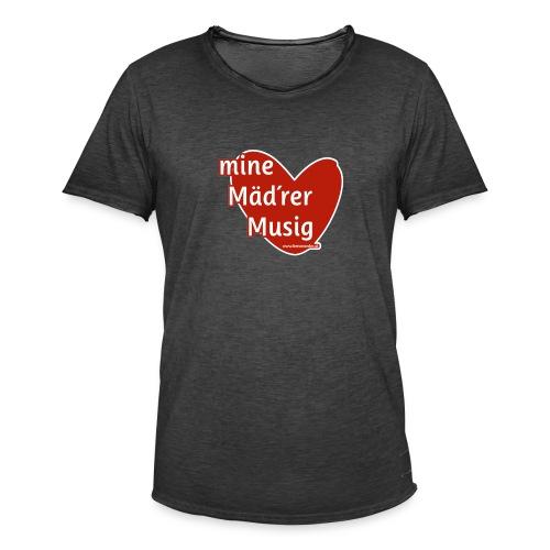 Mine Mäd´rer Musig - Männer Vintage T-Shirt