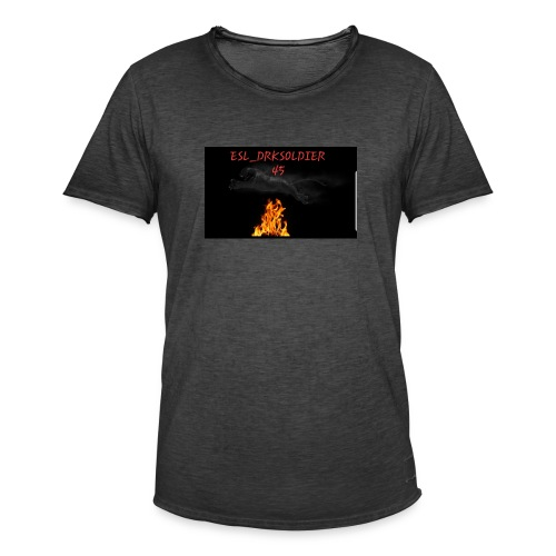 Puma Flamme - Männer Vintage T-Shirt