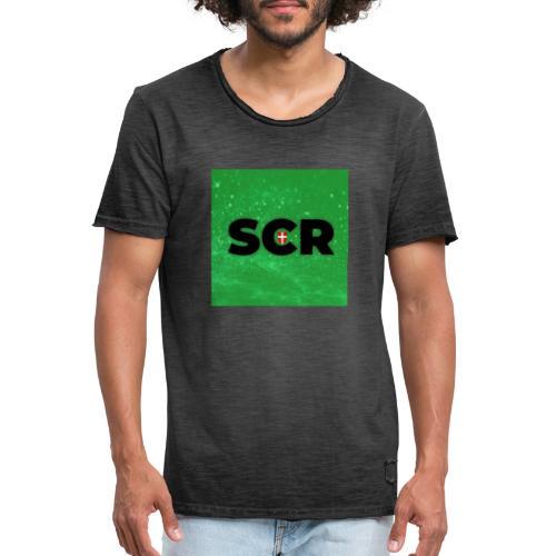 Photo 1563807109015 - Männer Vintage T-Shirt
