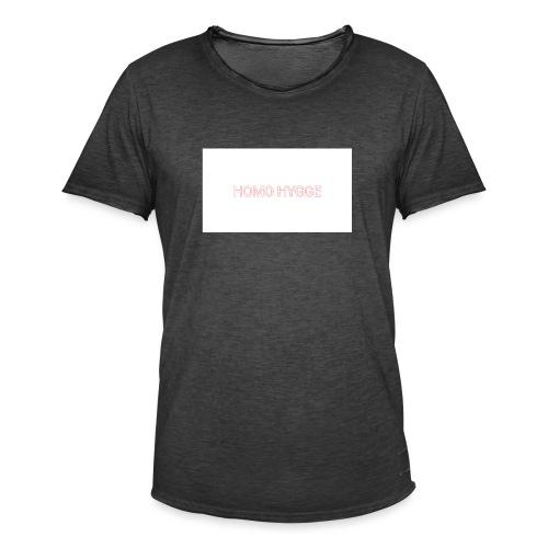 Standard homo hygge logo - Herre vintage T-shirt