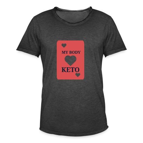 Keto - Mannen Vintage T-shirt