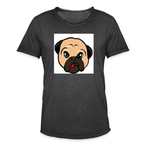 Dog - Vintage-T-skjorte for menn