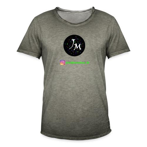jminformation-Logo - Männer Vintage T-Shirt