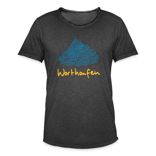 Worthaufen - Männer Vintage T-Shirt