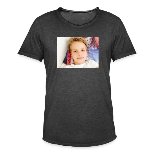 first design - Herre vintage T-shirt