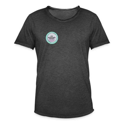 Datenschutz Podcast - Männer Vintage T-Shirt