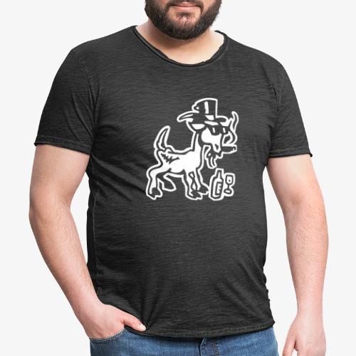 Bock auf Shirts ohne Text 30102018 7 07 - Männer Vintage T-Shirt
