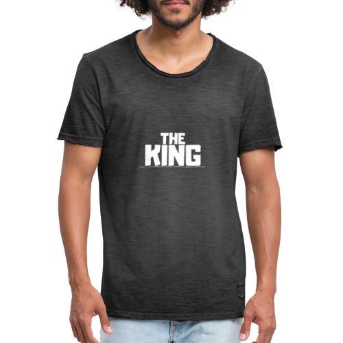 THE KING - Camiseta vintage hombre