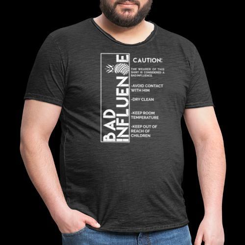 Bad Influence - Camiseta vintage hombre
