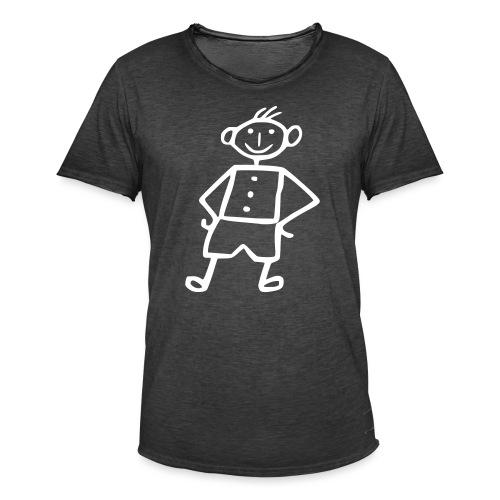 me-white - Männer Vintage T-Shirt