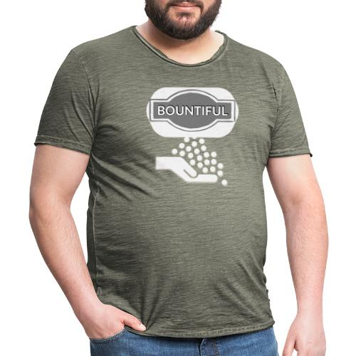 Bontiul gray white - Men's Vintage T-Shirt
