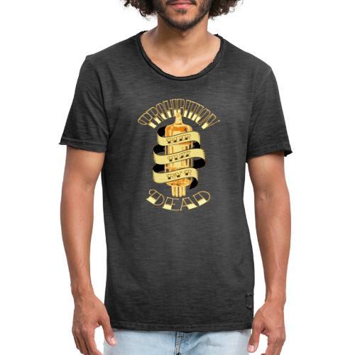 Tee Beer Fuzz Rock - T-shirt vintage Homme