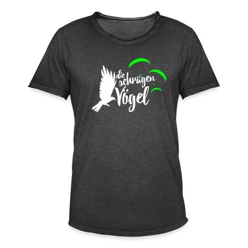 Die schraegen Voegel - Männer Vintage T-Shirt