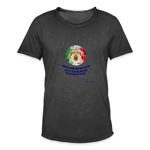 MEMENTO AUDERE SEMPER - Maglietta vintage da uomo