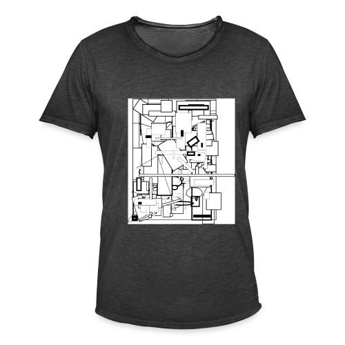 Entrelacé - T-shirt vintage Homme