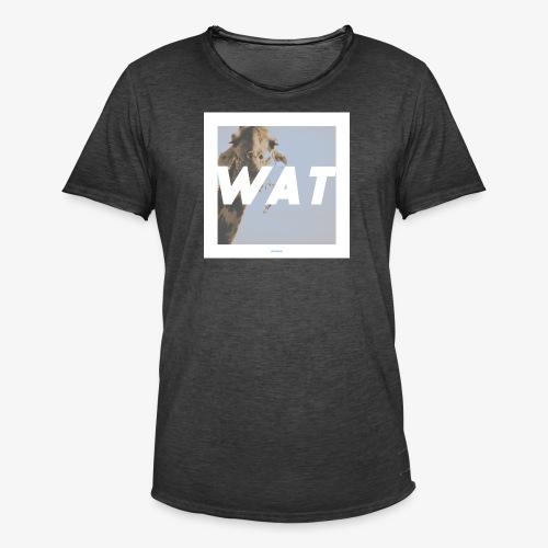 WAT #01 - Männer Vintage T-Shirt