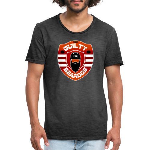 HC Guilty Beardos - Miesten vintage t-paita
