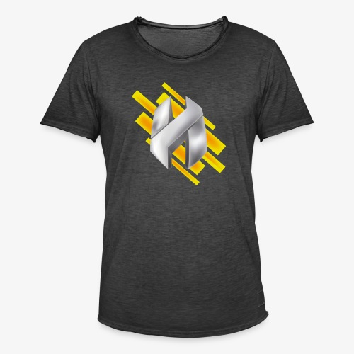 Abstract Yellow - Men's Vintage T-Shirt