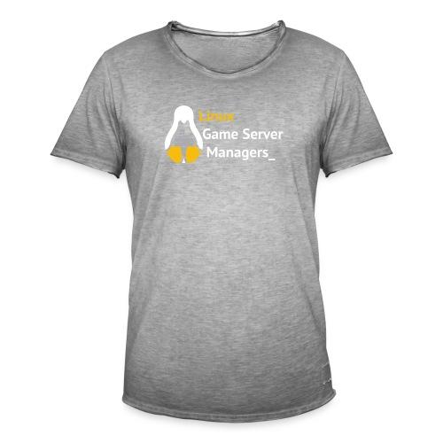 Linux Game Server Managers - Men's Vintage T-Shirt