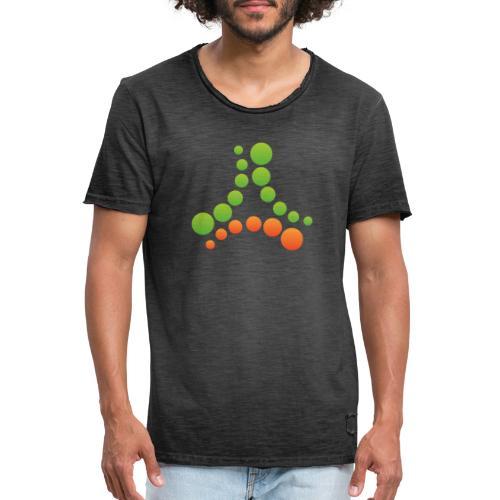 logotipo - Maglietta vintage da uomo