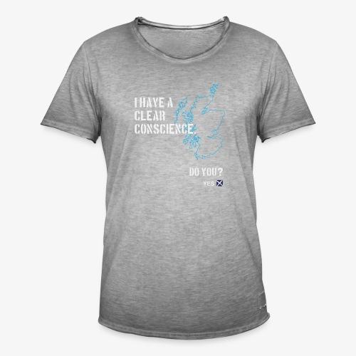 Clear Conscience - Men's Vintage T-Shirt