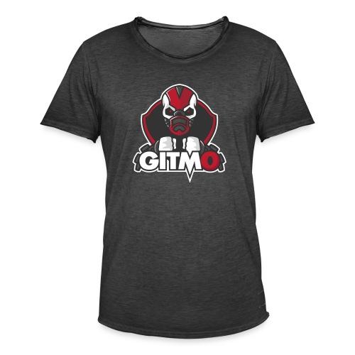 Gitm0 - Vintage-T-shirt herr