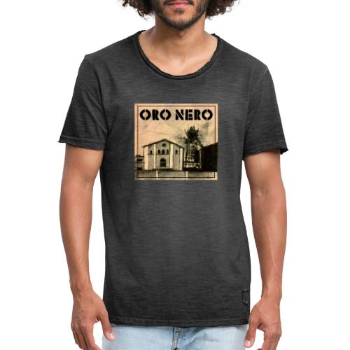 oro nero - Männer Vintage T-Shirt