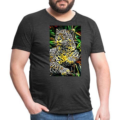 Giaguaro - Maglietta vintage da uomo