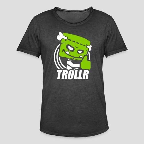 TROLLR Like - T-shirt vintage Homme