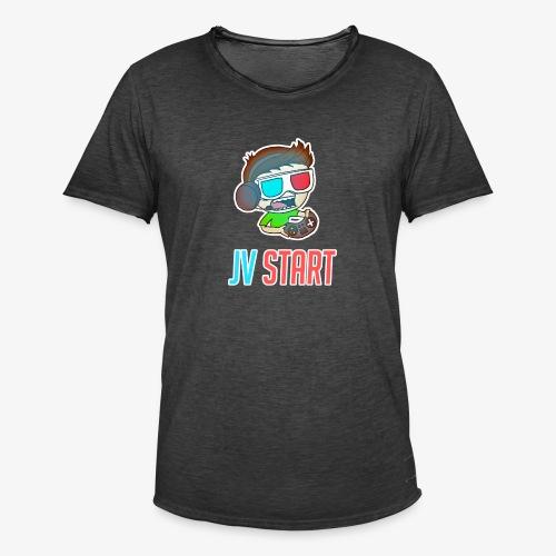 JVSTART Logo principal - T-shirt vintage Homme