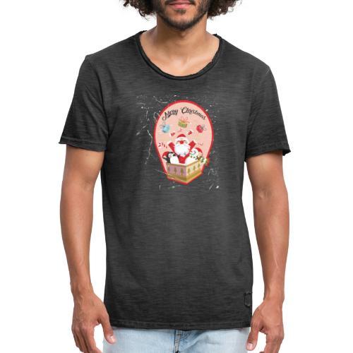Merry Chrismas1 - T-shirt vintage Homme