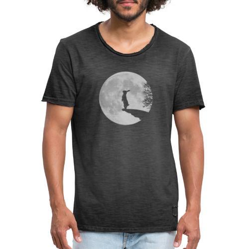Wolfinchen hase kaninchen häschenosterhase bunny - Männer Vintage T-Shirt
