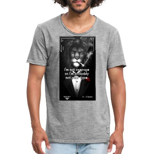 Motivational Quote Clothes Motivation - Vintage-T-shirt herr