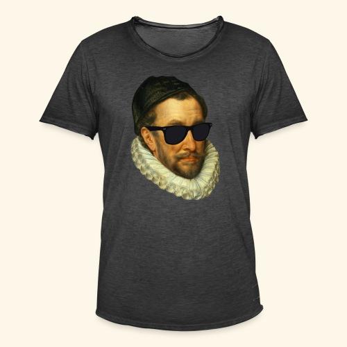 Fijn Uitgedoste Barbaar (zonder tekst) - Mannen Vintage T-shirt