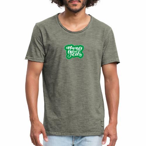 flubbers new year - Männer Vintage T-Shirt