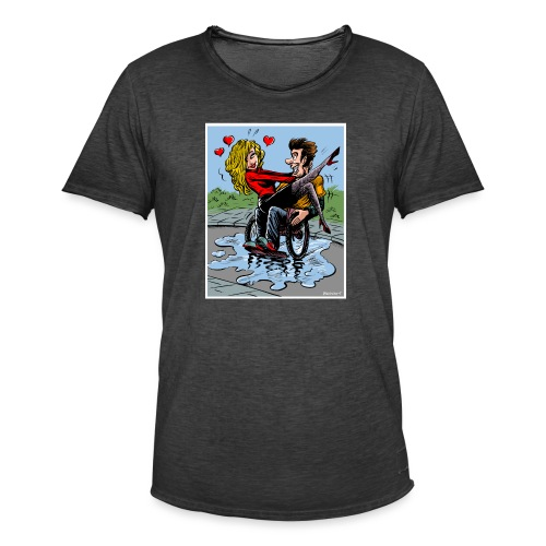 love - Vintage-T-shirt herr