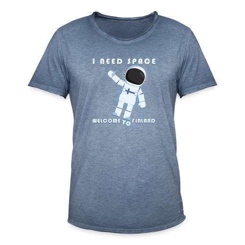 Space - Miesten vintage t-paita
