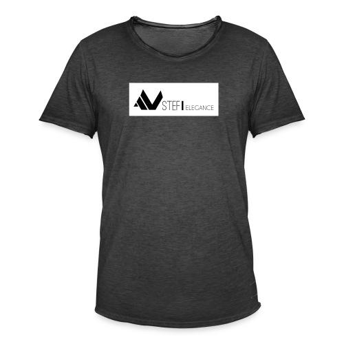 STEFÏ ELEGANCE - Männer Vintage T-Shirt