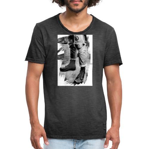 botte - T-shirt vintage Homme