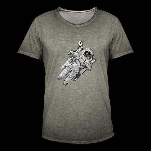 Small Astronaut - Men's Vintage T-Shirt
