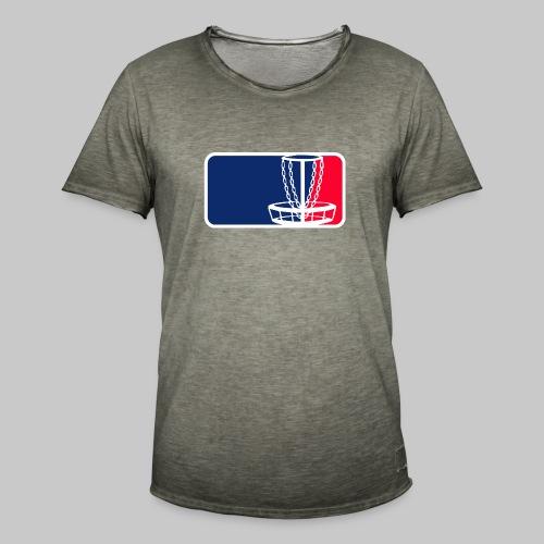 Disc golf - Miesten vintage t-paita