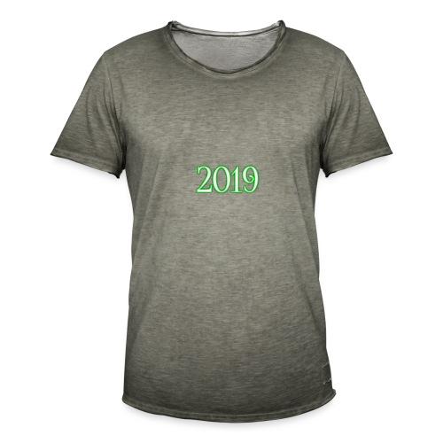 2019 - Men's Vintage T-Shirt