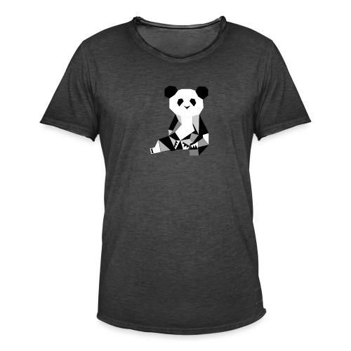 Panda - Männer Vintage T-Shirt