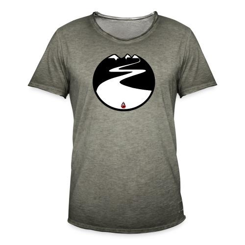 Montagne noire - T-shirt vintage Homme