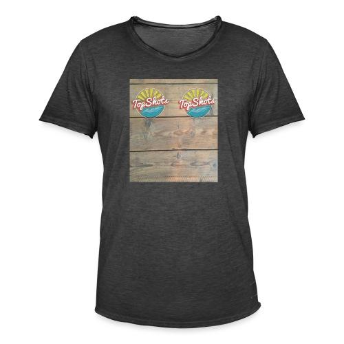 TenSlippers - Mannen Vintage T-shirt